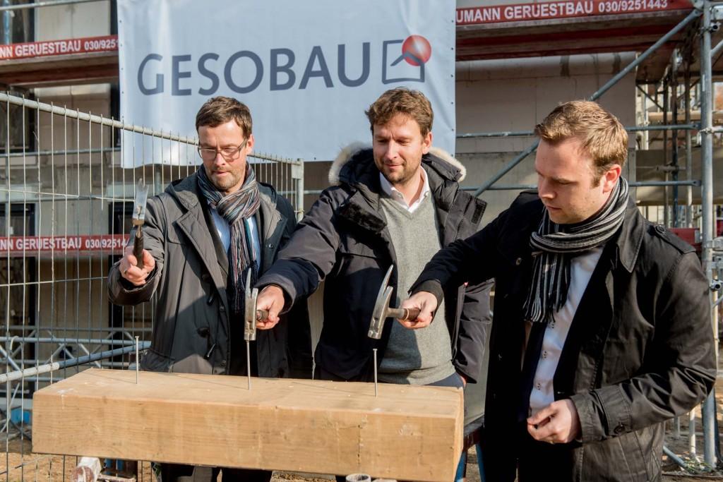 GESOBAU AG, Richtfest Thulestrasse